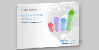 Employee benefits report US life sciences industry